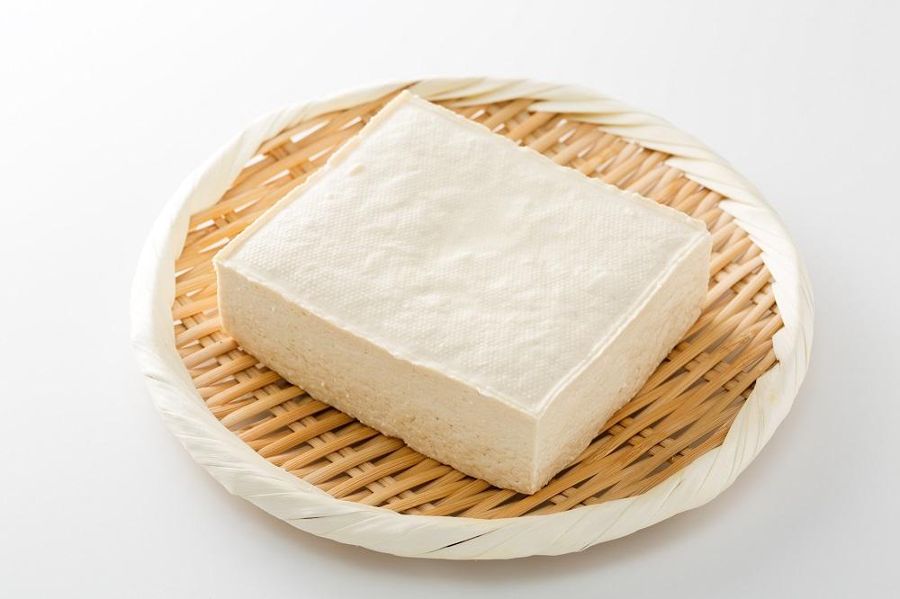 ざるのうえの豆腐