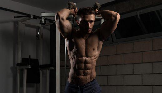 ダンベルフレンチプレスで上腕二頭筋に力こぶを!トレーニング方法を解説